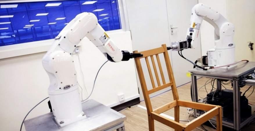 روبوتات تركيب الأثاث