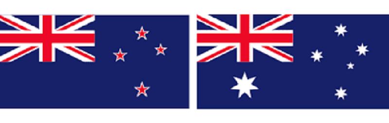 نيوزيلندا واستراليا