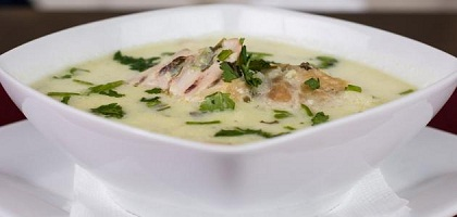 حساء كاري الدجاج