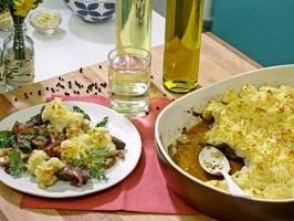 من المطبخ المصري .. الكبدة مع البطاطا
