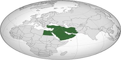 أكبر الدول في الشرق الأوسط