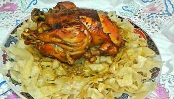 الرفيسة بالدجاج