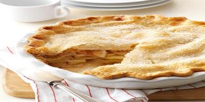 فطيرة التفاح أو الأبل باي بطريقة سهلة